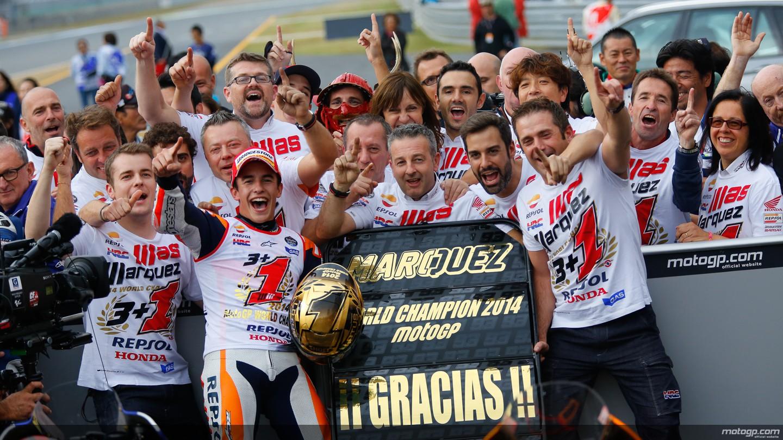 Motegi: vince Lorenzo. Marquez si riconferma Campione