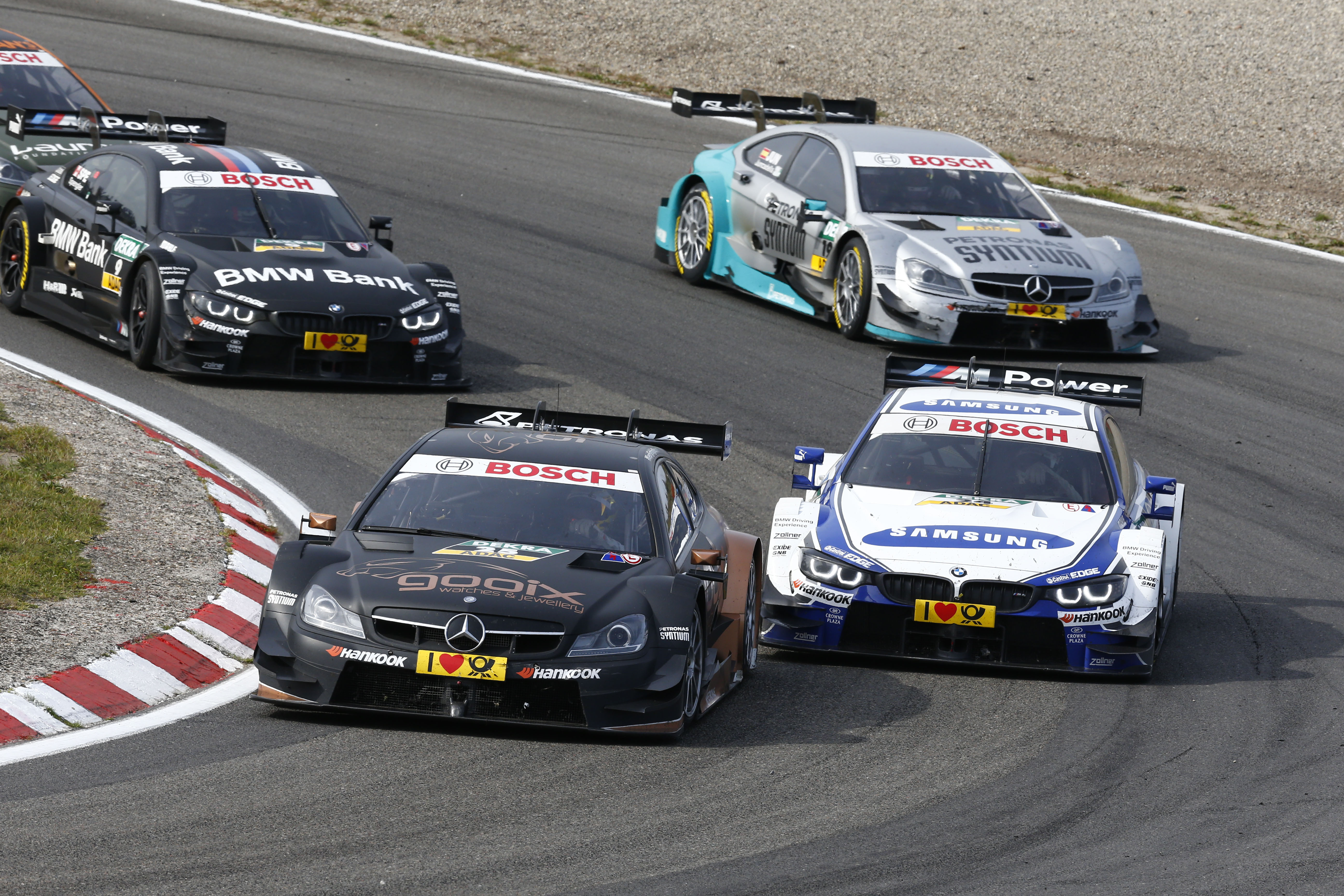 DTM: Hamilton, Coulthard & Alesi at finale in Hockenheim