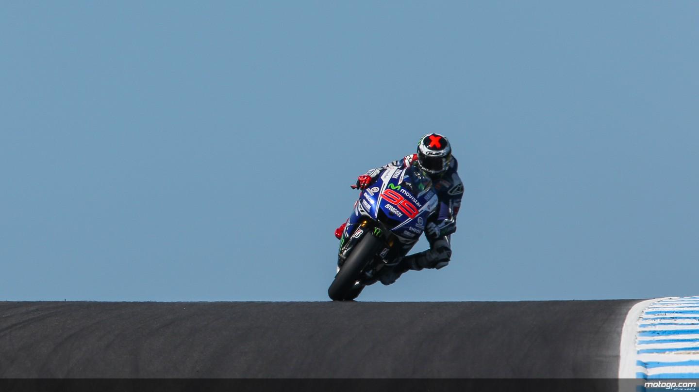 MotoGP: Lorenzo davanti a tutti nelle libere a Phillip Island