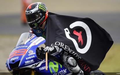 MotoGP, GP Catalunya: Lorenzo vince su Rossi e Pedrosa