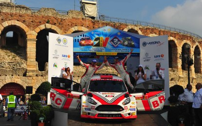 Due Valli: per BRC 2° posto nel rally e in classifica assoluta