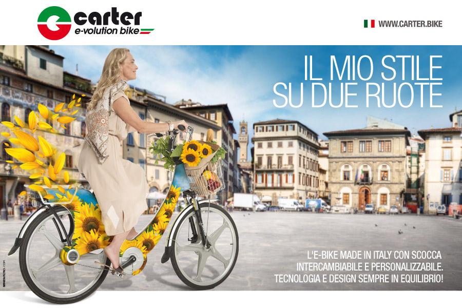 EICMA: debutto italiano per le E-BIKE CARTER