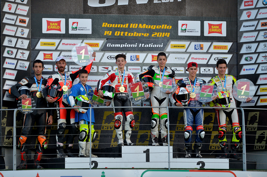 CIV: il Mugello incorona i campioni 2014