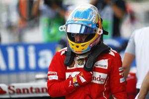 Fernando Alonso Ferrari F14T1