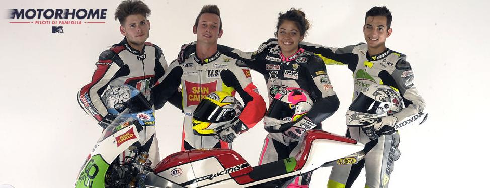 """Motorhome-Piloti di Famiglia"": primo docu-reality sul motociclismo"