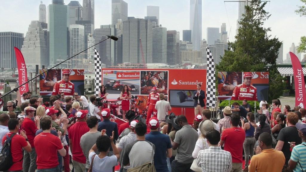 Un flash mob per Alonso a New York