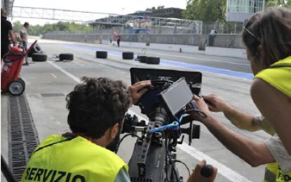 Monza: ciak, si gira ITALIAN RACE