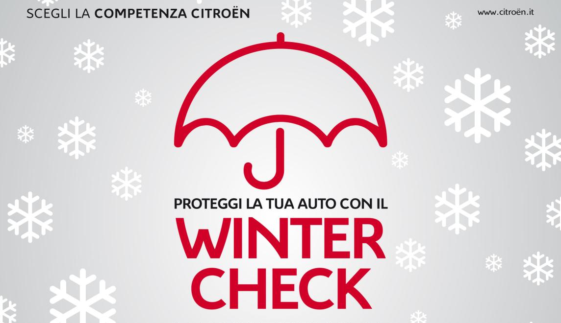 Citroën Italia: è il momento di Winter Check