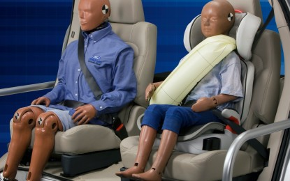 Ford: cinture di sicurezza con air-bag integrato