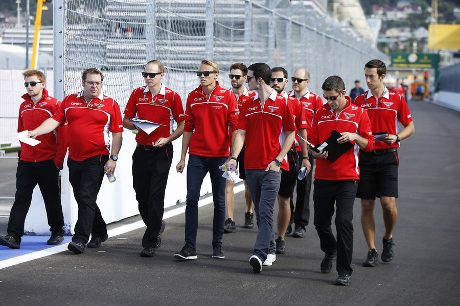 Marussia mette Rossi sul sedile di Jules a Sochi