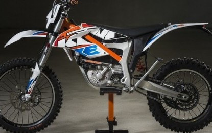 EICMA: KTM Freeride E