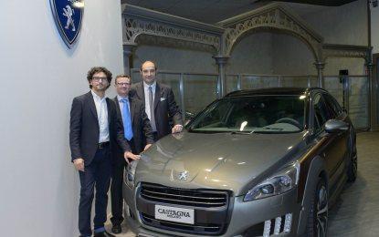 508 RXH Castagna al Museo de l'Aventure Peugeot