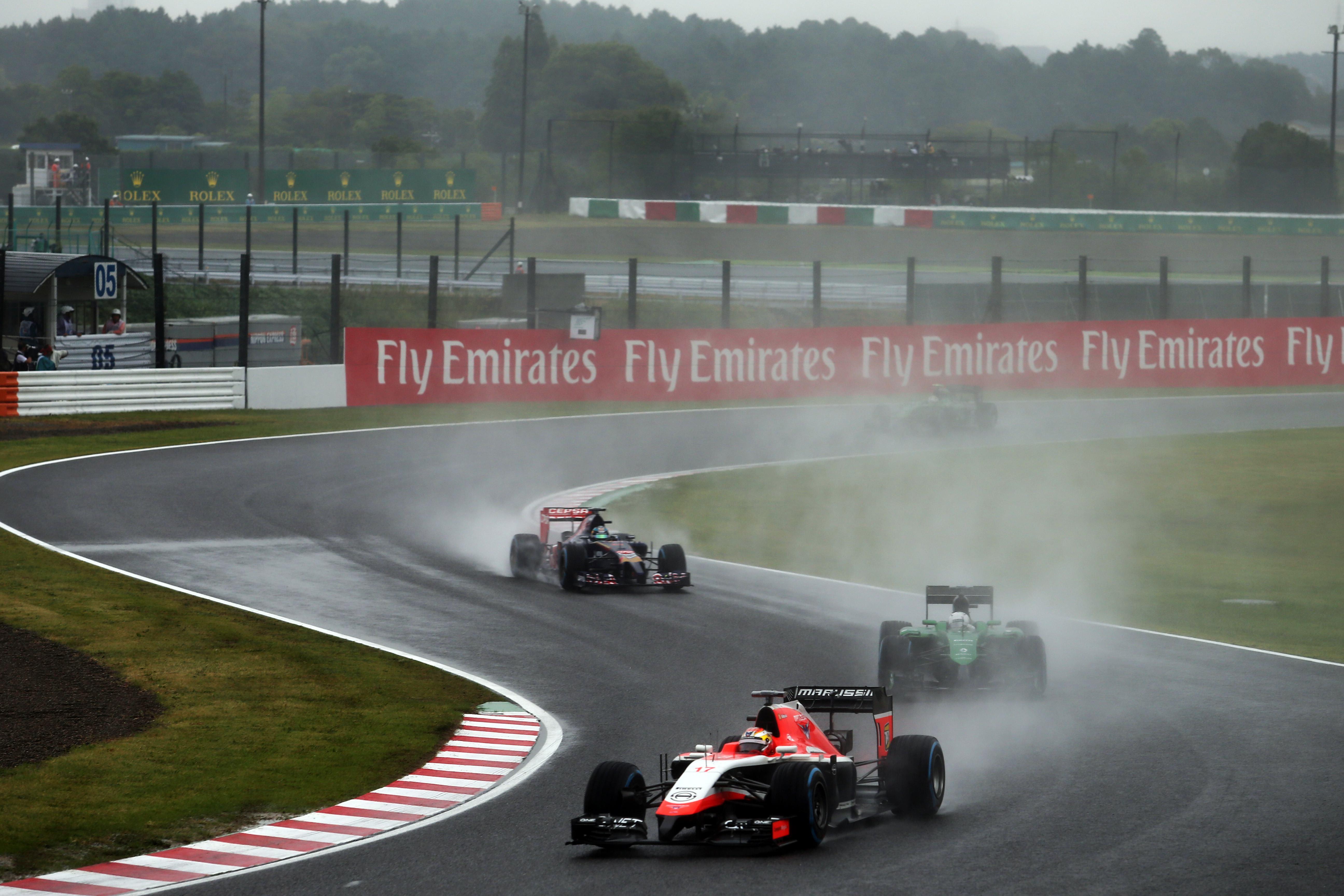 Le reazioni della F1 all'incidente di Jules Bianchi