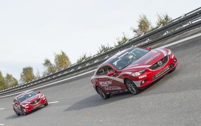 Mazda6 diesel: record di velocità