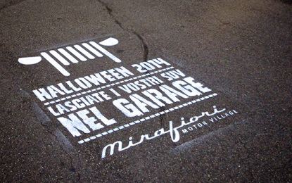 Strane apparizioni a Torino… firmate Mirafiori Motor Village