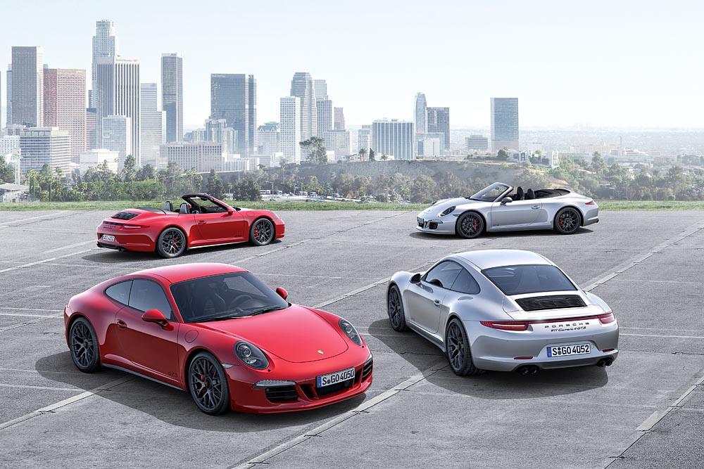 Porsche 911 Carrera GTS: più potenza e più dinamica di guida