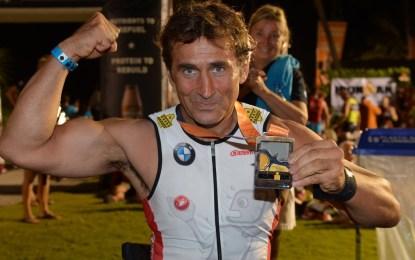 """Alex Zanardi """"Ironman"""": triathlon in meno di 10 ore!"""