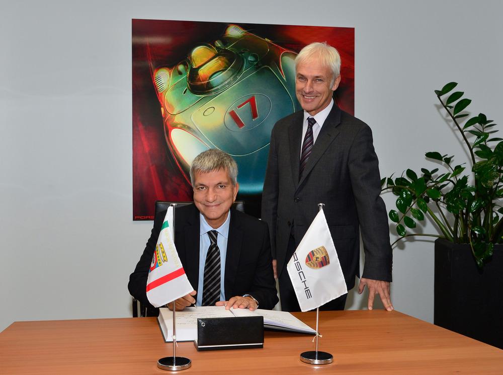 Porsche accelera lo sviluppo del centro Prove di Nardò