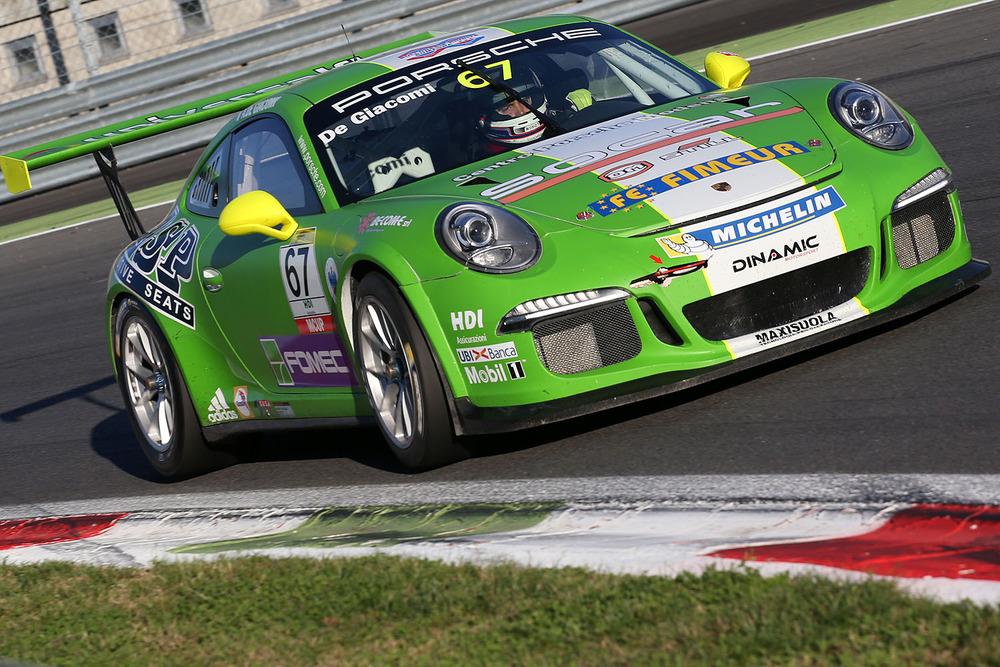 Carrera Cup Italia: a Monza pole e vittoria in Gara 1 per Cairoli