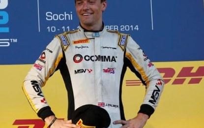 Palmer campione GP2 2014 con Sparco