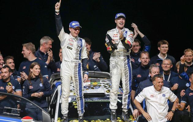WRC: prima vittoria su asfalto per Latvala-Anttila