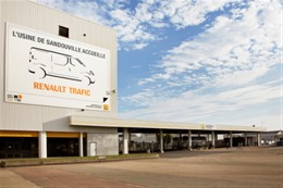 Renault inaugura la linea di produzione di Trafic
