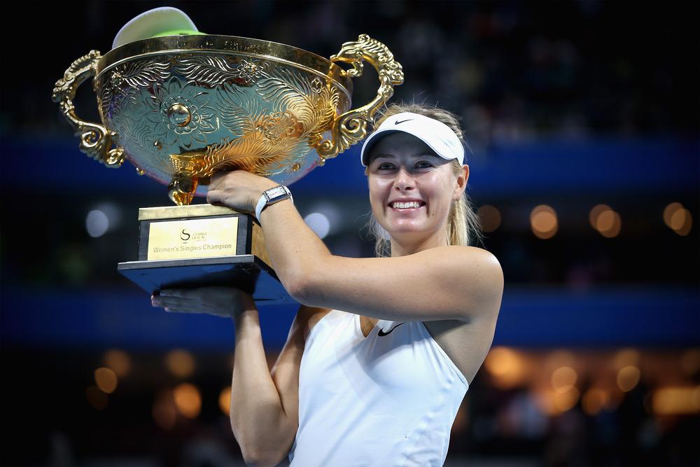 Sharapova, brand ambassador Porsche, vince i China Open