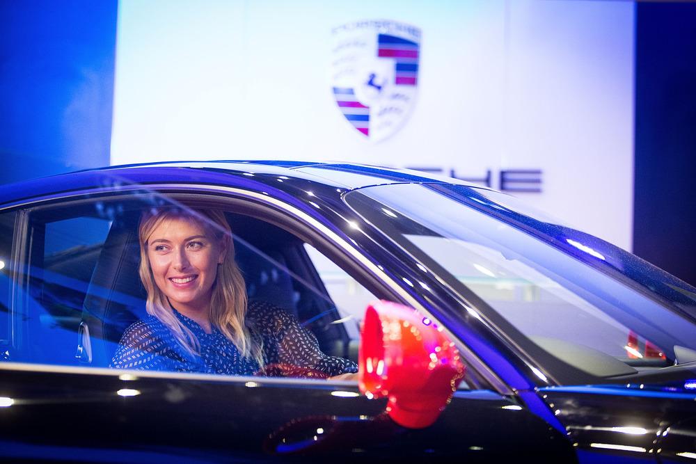 Porsche: Maria Sharapova fiduciosa per i WTA Championships