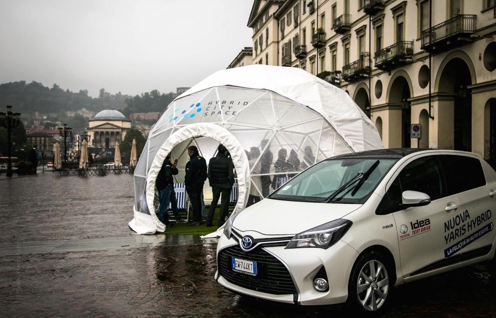 Toyota: Hybrid Metro Mobility a Torino