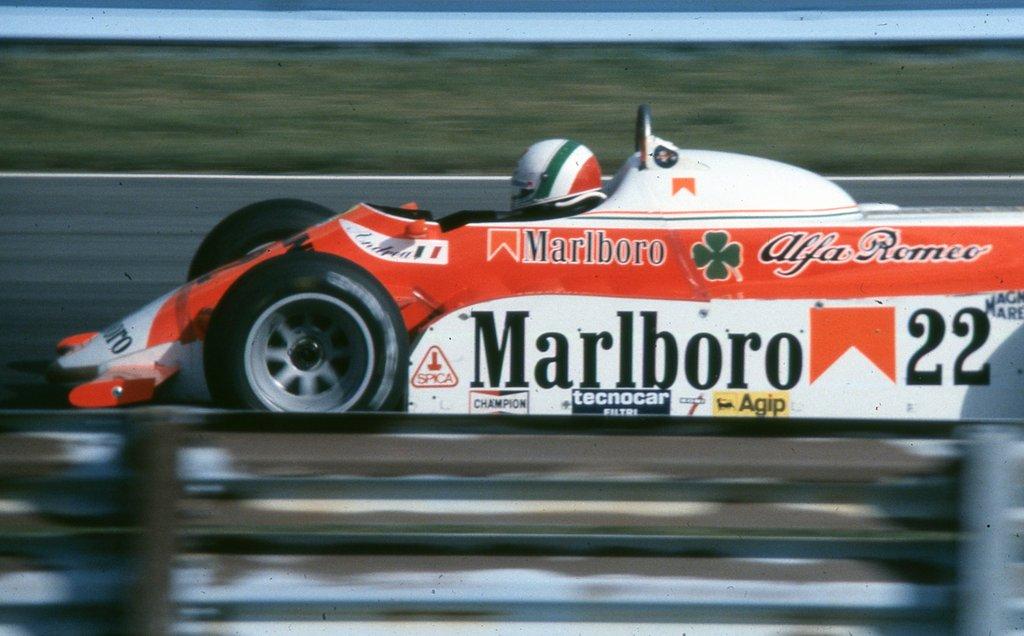 Andrea De Cesaris, un altro pugno nello stomaco