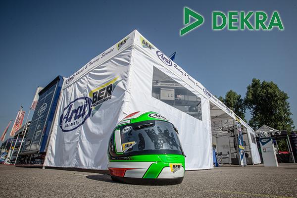 Arai Racing & Touring Service con DEKRA a Imola
