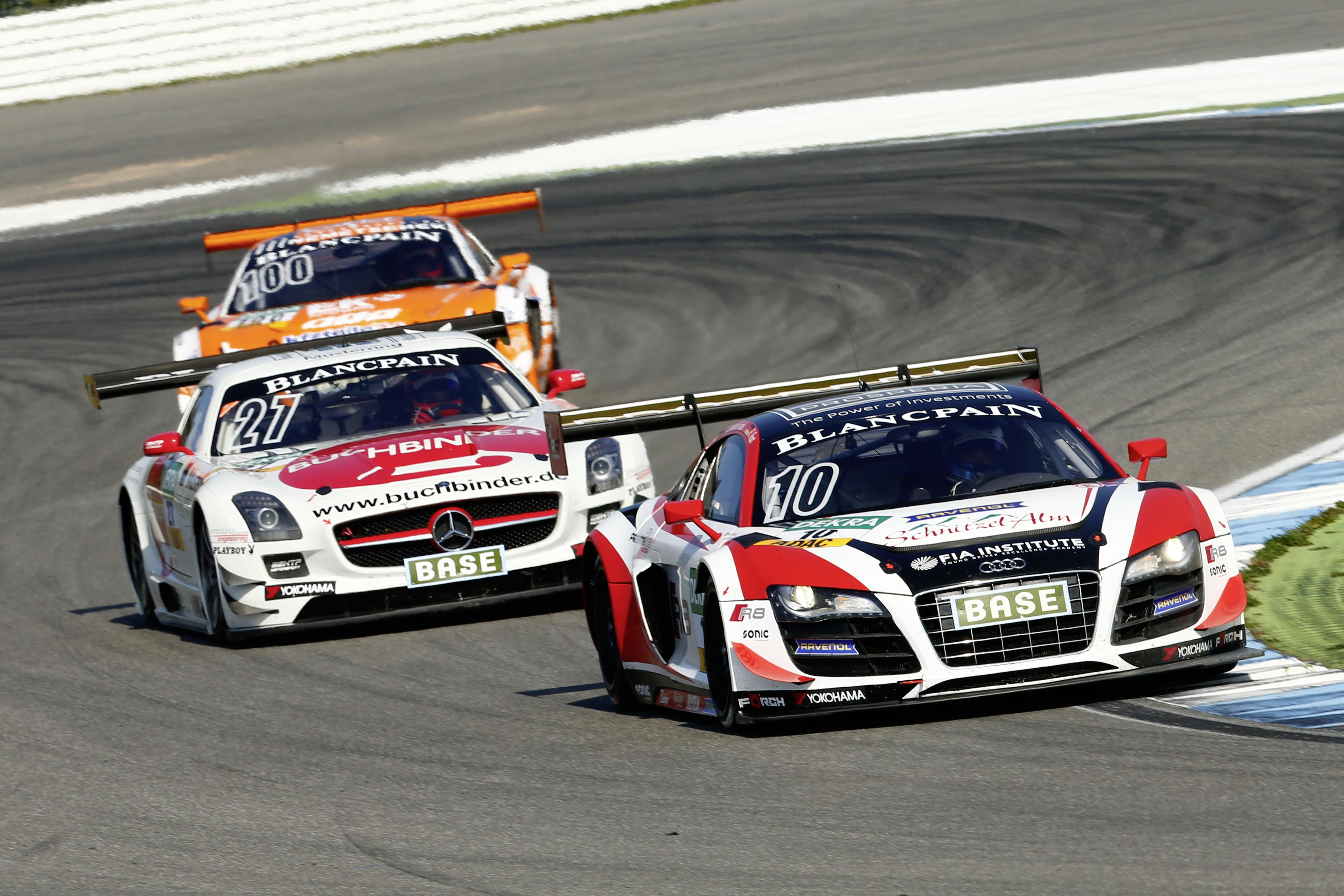 ADAC GT Masters: trionfo Audi R8 LMS ultra