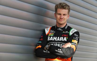Nico Hulkenberg rinnova con Sahara Force India
