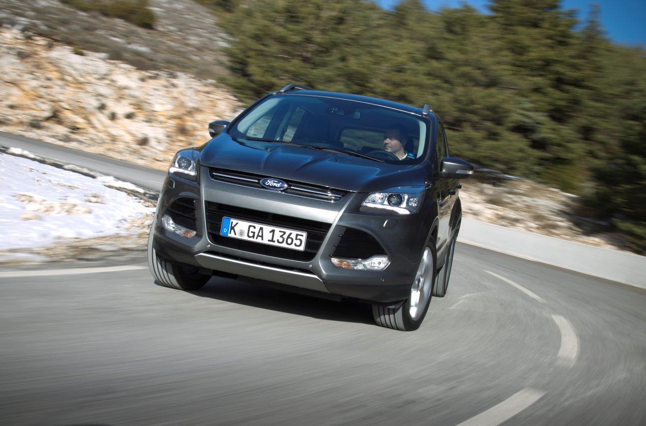 Ford Kuga: più colori, più tecnologia e nuovi motori Euro 6