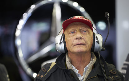 Lauda torna in terapia intensiva