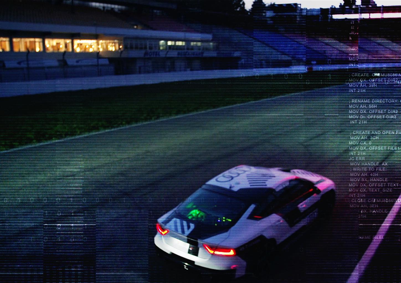 Audi: l'auto a guida pilotata più sportiva al mondo