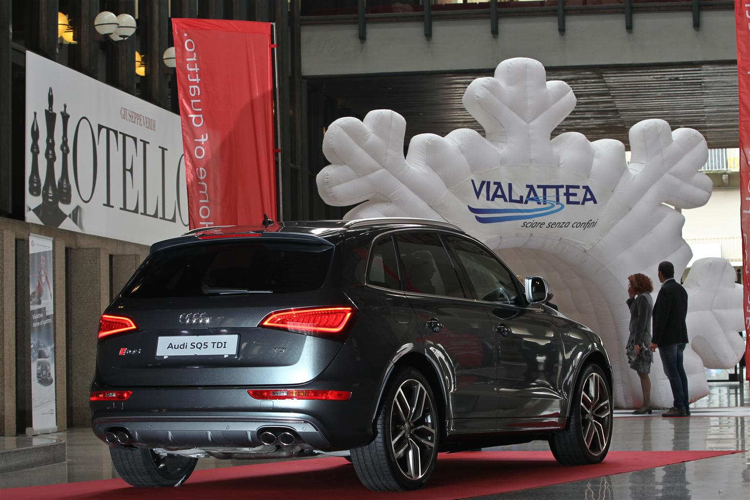 Audi Italia partner del comprensorio Vialattea