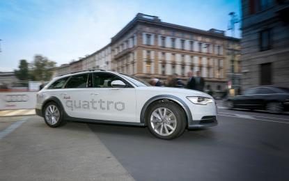 Per Audi riparte la stagione degli sport invernali