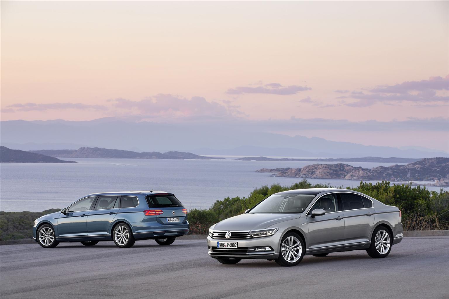 VW Passat e Passat Variant