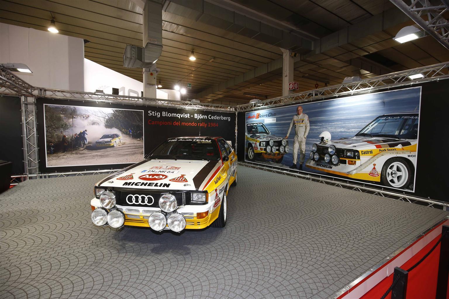 Audi celebra la trazione quattro