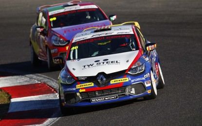Clio Cup Italia: ultimo successo al neo-Campione Nogues