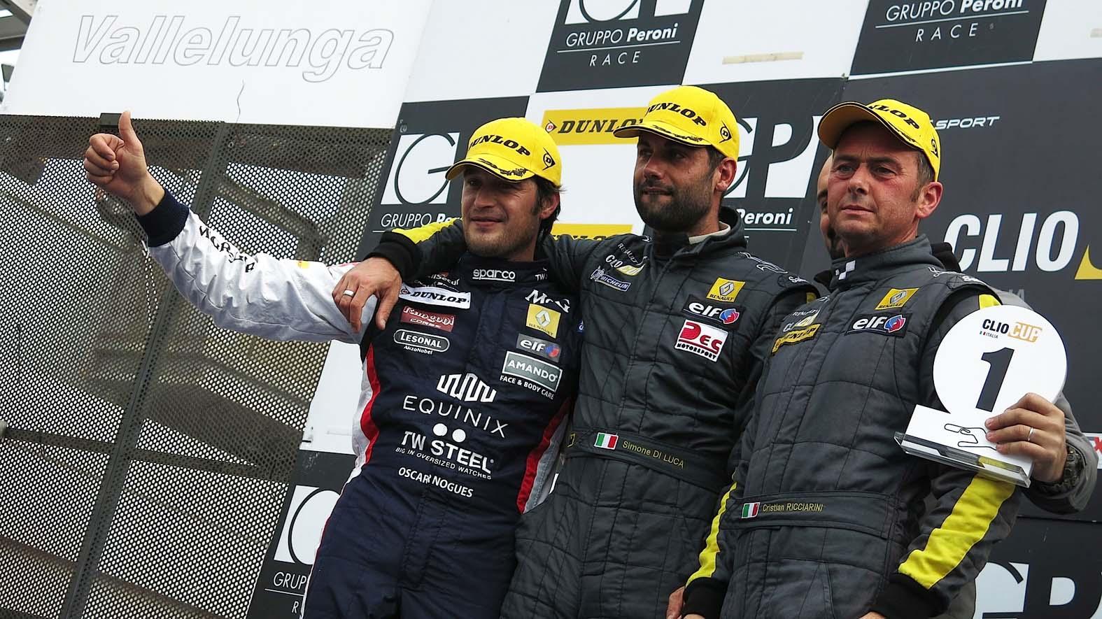 Clio Cup Italia: tre Campioni davanti a tutti in Gara 1