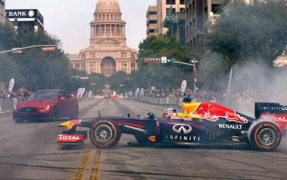 Daniel e Seb si scatenano nel centro di Austin
