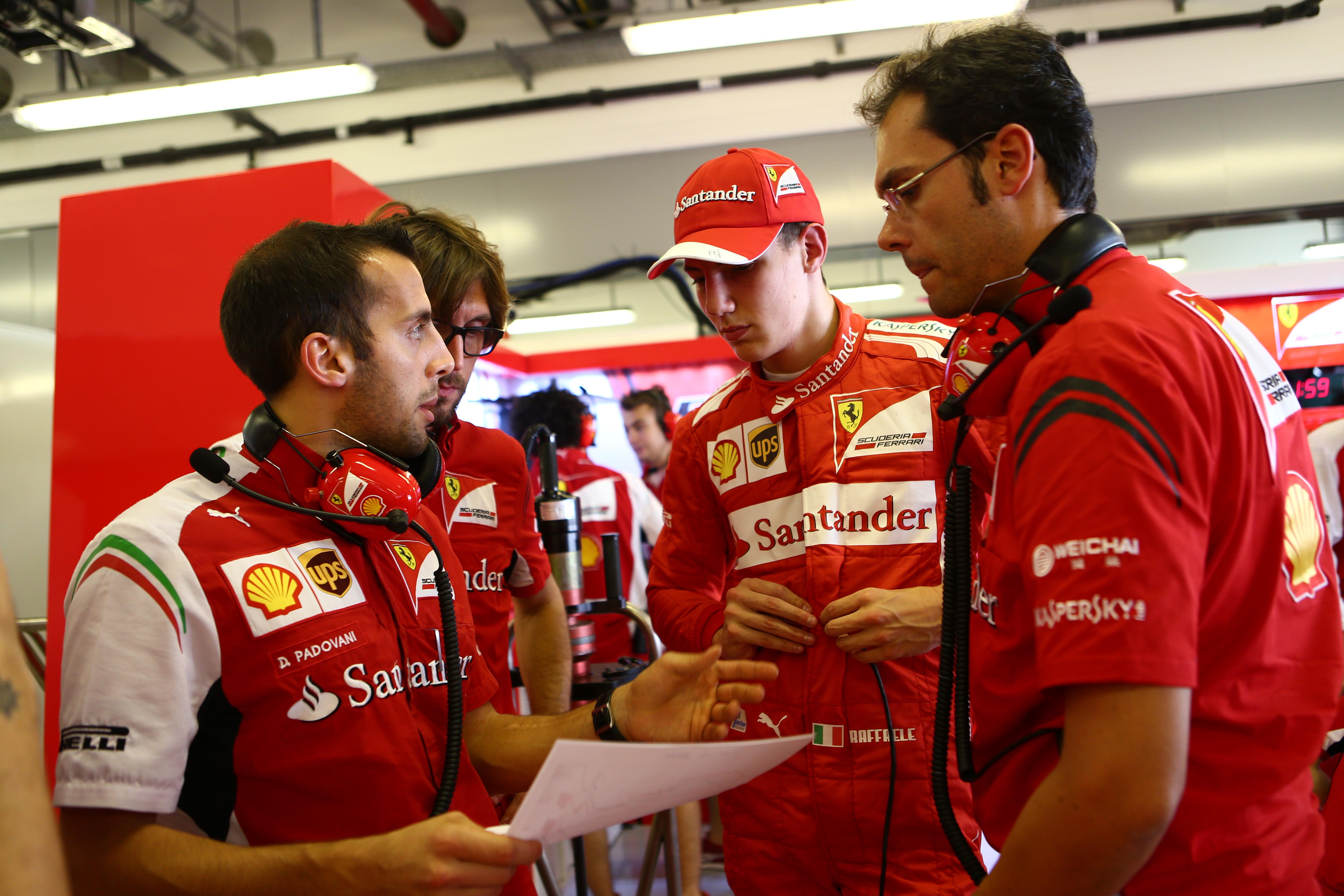 L'Italia torna in F1 con Marciello, tester e terzo pilota Sauber