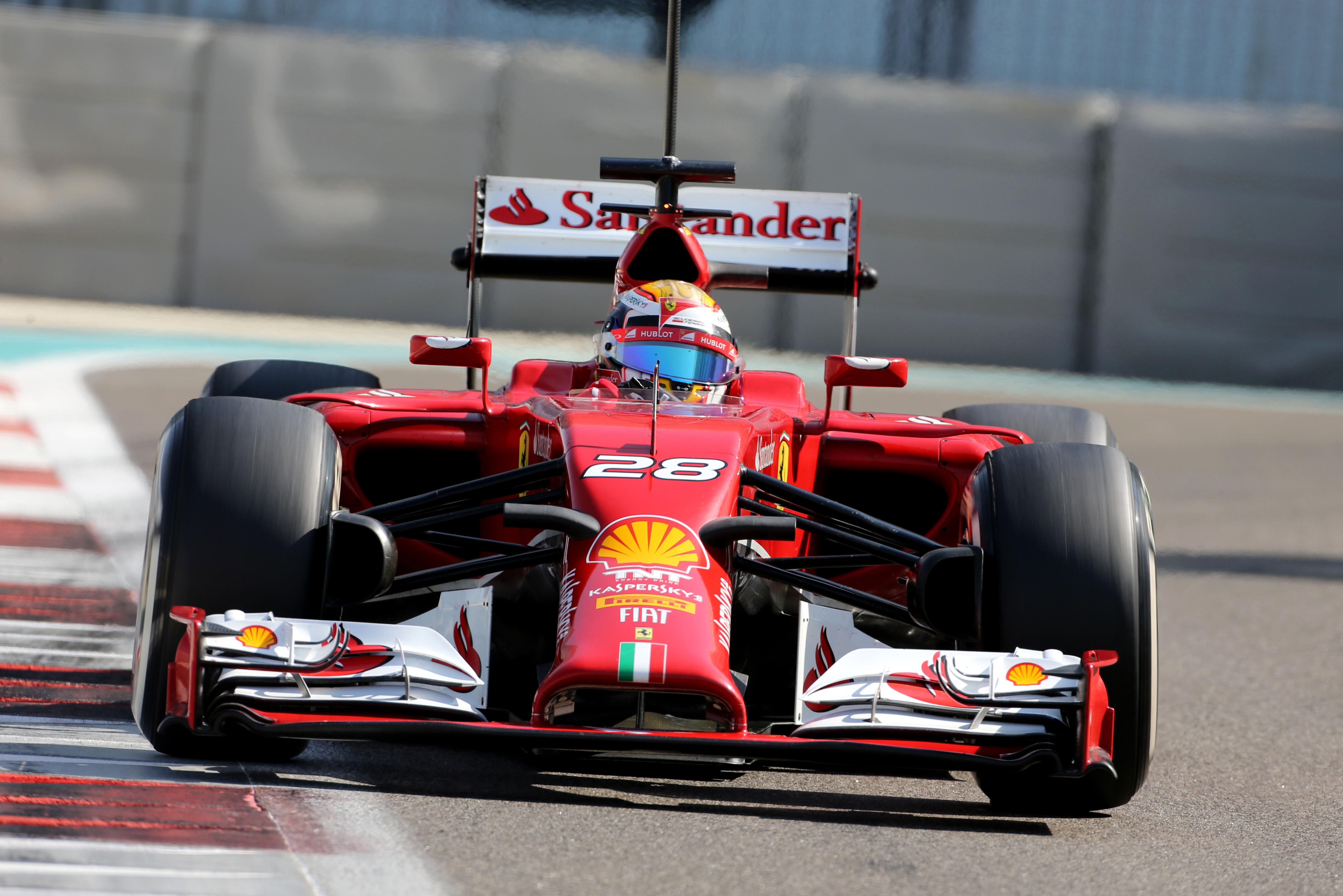 Ferrari: Marciello conclude i test di Abu Dhabi