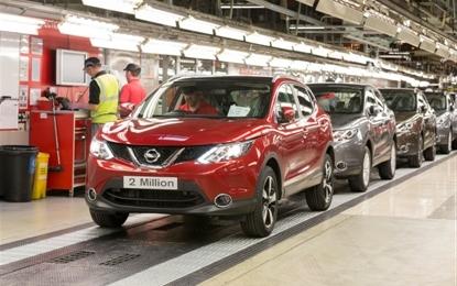 Nissan Qashqai: 2 milioni prodotte in Europa