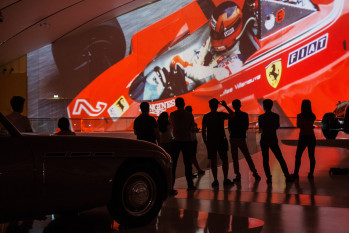 La passione Ferrari diventa una festa