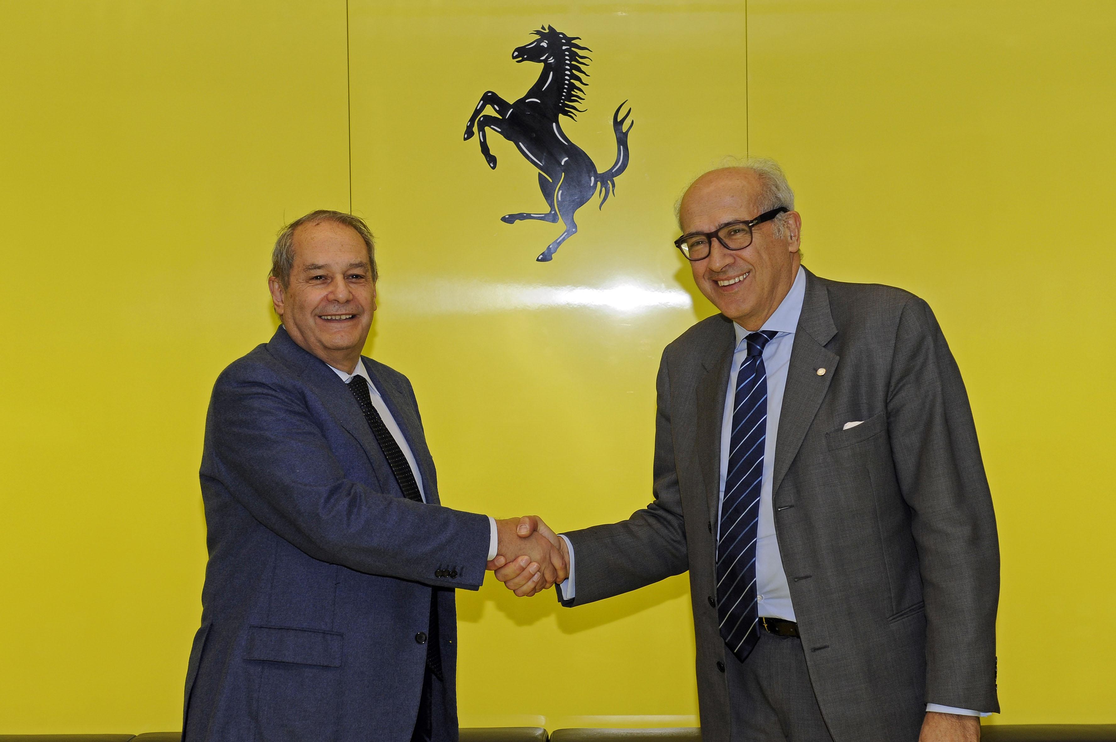 Ferrari e Unimore: accordo per ricerca e didattica
