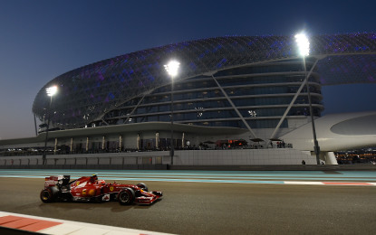 Ferrari: il punto sulle libere di Abu Dhabi