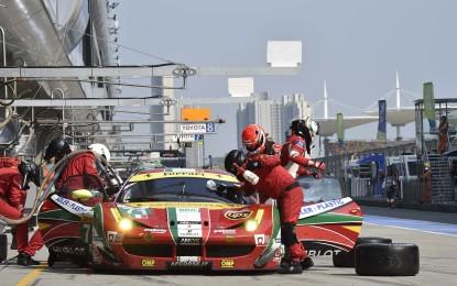 WEC: gara amara per le Ferrari a Shanghai